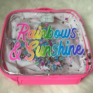 FINAL🐣LIMITED TOO RAINBOWS AND SUNSHINE LUNCH BAG